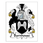 Barnhouse Family Crest Small Poster