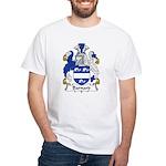 Barnard Family Crest White T-Shirt