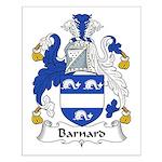 Barnard Family Crest Small Poster