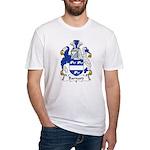 Barnard Family Crest Fitted T-Shirt
