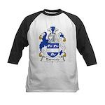 Barnard Family Crest Kids Baseball Jersey