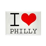 I Heart Philly Rectangle Magnet (100 pack)