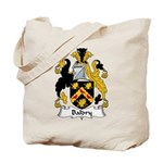 Baldry Family Crest Tote Bag
