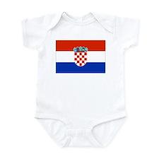Croatian Flag Onesie