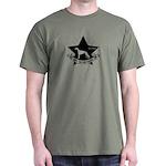 Obey the Greyhound! Star logo Dark T-Shirt