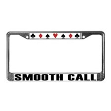 Unique Texas hold License Plate Frame