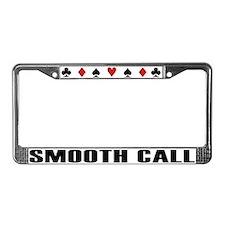 Cute Holdem License Plate Frame