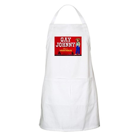 Gay Johnny BBQ Apron