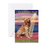 Blessed Golden Greeting Cards (Pk of 20)
