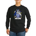 Aske Family Crest Long Sleeve Dark T-Shirt