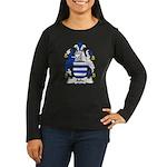 Aske Family Crest Women's Long Sleeve Dark T-Shirt