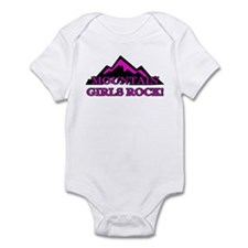 Mountain girls rock Infant Bodysuit