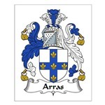 Arras Family Crest Small Poster