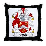 Arnold Family Crest Throw Pillow