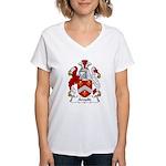 Arnold Family Crest Women's V-Neck T-Shirt