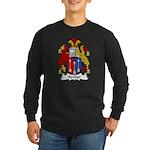 Archer Family Crest Long Sleeve Dark T-Shirt