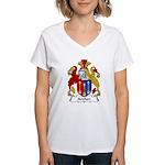 Archer Family Crest Women's V-Neck T-Shirt