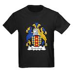 Antrobus Family Crest Kids Dark T-Shirt