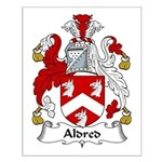 Aldred Family Crest Small Poster