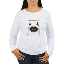 I Love Himalayan Cats T-Shirt