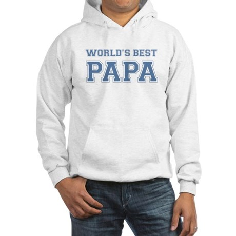 Worlds Best Papa Hooded Sweatshirt