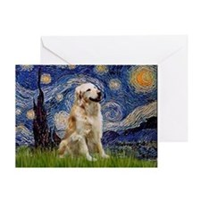 Starry / Golden (B) Greeting Card