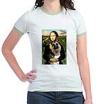 Mona's G-Shepherd Jr. Ringer T-Shirt