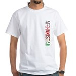 Afghanistan White T-Shirt
