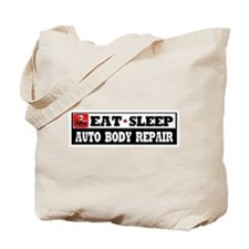 Auto Body Repair Tote Bag