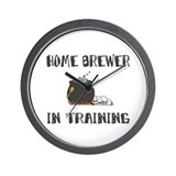 Home Brewing Humor Wall Clock
