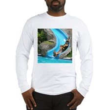 Lily Water Slides Dachshunds Long Sleeve T-Shirt