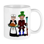 Thanksgiving Pilgrims Mug