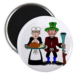 Thanksgiving Pilgrims Magnet