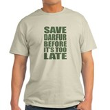 Save Darfur - Loudly T-Shirt