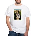 Mona's G-Shepherd White T-Shirt