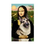Mona's G-Shepherd Sticker (Rectangle)