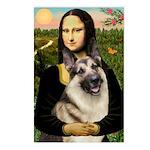 Mona's G-Shepherd Postcards (Package of 8)