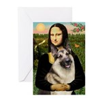 Mona's G-Shepherd Greeting Cards (Pk of 10)