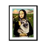 Mona's G-Shepherd Framed Panel Print