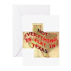 Flat Texas Greeting Cards (Pk of 20)