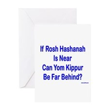 Rosh Hashanah Is Near Greeting Card