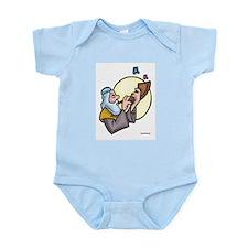 Rosh Hashanah Shofar Sounds Infant Bodysuit