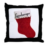 Leonberger Stocking Throw Pillow