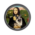 Mona's G-Shepherd Wall Clock