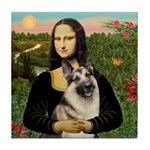Mona's G-Shepherd Tile Coaster