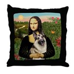 Mona's G-Shepherd Throw Pillow
