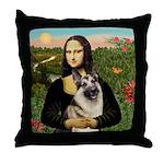 Mona's G-Shepherd Throw Pillow