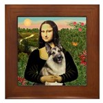 Mona's G-Shepherd Framed Tile