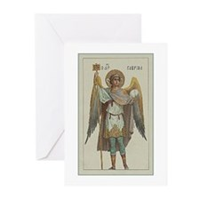 Angel Three Greeting Cards (Pk of 10)