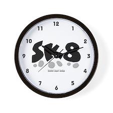 SK8 Wall Clock